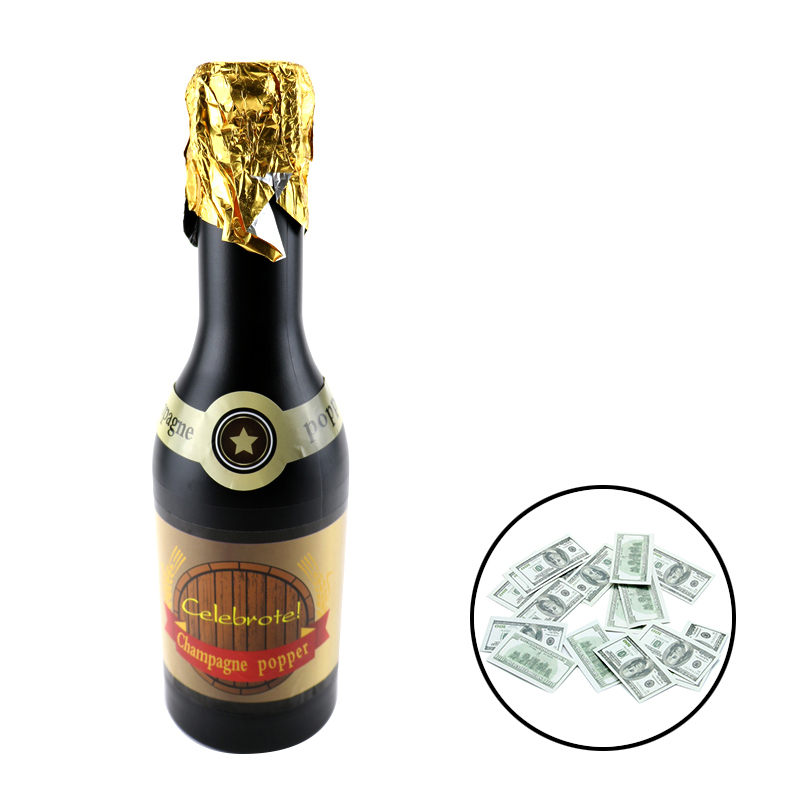 Fake Money Champagne Popper